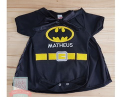 Body personalizado - Batman Baby