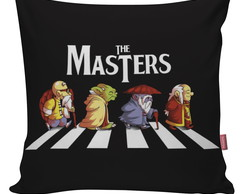 Capa De Almofada Decorativa Geek Mestres The Masters