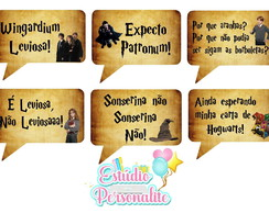 Plaquinha Divertida Harry Potter