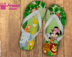 CHINELO PERSONALIZADO SAFARI MINNIE
