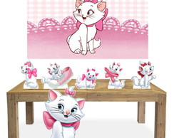 Kit completo 6 Display com Painel Gata Marie