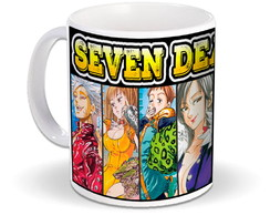 Caneca do Anime Seven Deadly Sins - Nanatsu No Taizai