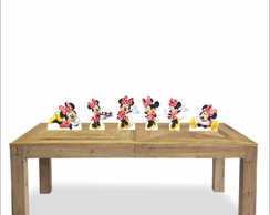 Kit de mesa 6 display - Minnie Vermelha