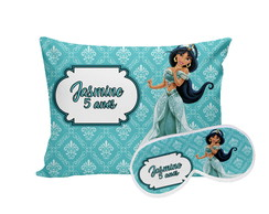 Kit Festa do Pijama Princesa Jasmine Aladdin