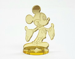 Aplique Mickey 4cm com Base