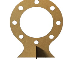 Moldura Ring Light Mod 1 Em Mdf Cru