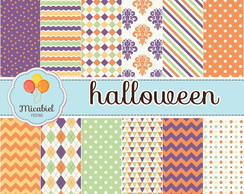 Papel Digital - Halloween (básico)