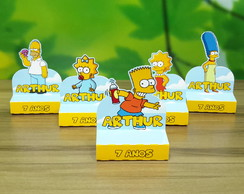 Porta Chocolate Biss Duplo Os Simpsons