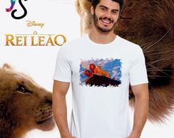 Camiseta Filme Rei Leão Personagens