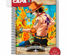 Caderno Ace - One Piece