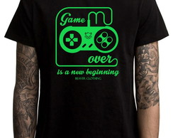 CAMISETA MASCULINA - GAME OVER