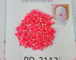 3113 25A10 Strass Cristal Nude Termocolante 3mm Rosa pc 3g