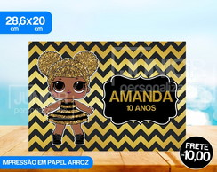 Papel Arroz Personalizado LOL Queen Bee