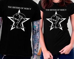 Camiseta Sisters of Mercy Rock Gótico Blusa