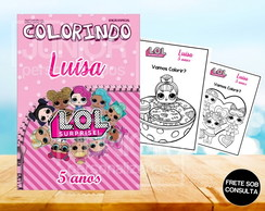 Revista de Colorir LOL Surprise