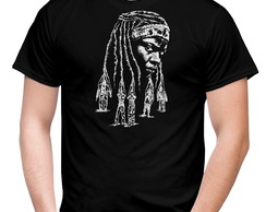 CAMISETA GEEK TWD MICHONNE
