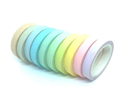 Kit Washi Tapes - Coloridas (10 Unidades)