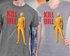 Camiseta Kill Bill A Noiva Blusa Tarantino Uma Thurman Vol 1