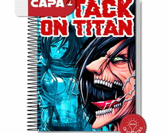 Caderno Attack On Titan - Shingeki No Kyojin