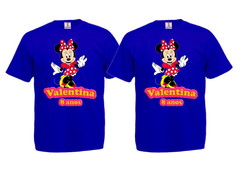 Kit 2 Camisetas Minnie Vermelha