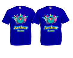 Kit 2 Camisetas Furby