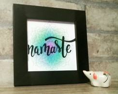 QUADRINHO DECORATIVO NAMASTE