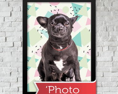 Quadro Personalizado Pet 'Photo A4