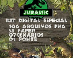 Kit Digital Jurassic - Série Especial