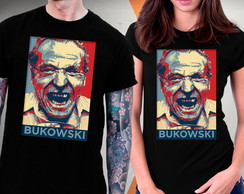Camiseta Charles Bukowski Blusa Henry Chinaski Hollywood