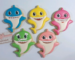 Bolacha Decorada Baby Shark