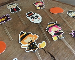 Pin simples Halloween