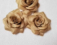 BROCHES FLOR BEGE