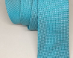 Gravata Azul Tiffany Semi Slim Adulto