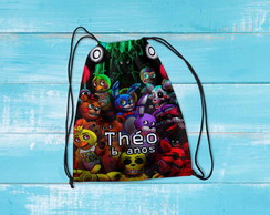 Mochilinha personalizada Five Night Fredys