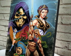 Quadro Decorativo A4 He-Man