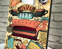 Quadro Decorativo A4 Central Perk