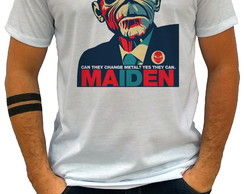 Camiseta Camisa MAIDEN can they change metal? -CS1371