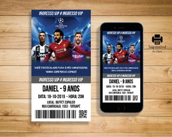 Convite Digital Champions League Salah- DIGITAL