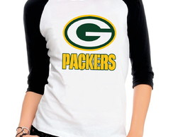 Camiseta manga 3/4 Green Bay Packers