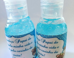 Mini álcool gel personalizado PEGUE E MONTE