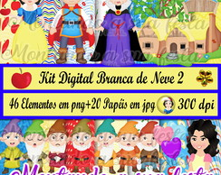 Kit Digital Branca de Neve 2