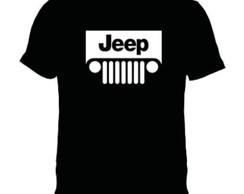 Camiseta Jeep Carro Classico Antigo Retro