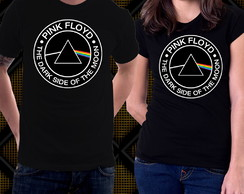 Camiseta Pink Floyd The Dark Side Of The Moon Progressivo