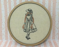 Quadro Bastidor Anne de Green Gables - Anne With an E