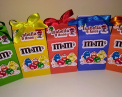 Caixa Milk M&M's