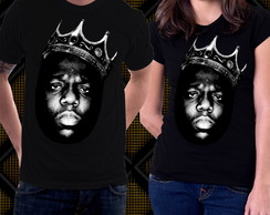 Camiseta The Notorious BIG Biggie Smalls Junior MAFIA Blusa