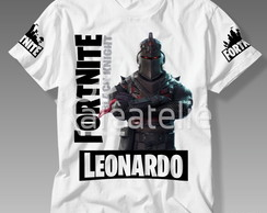 Camiseta Fortnite Black Knight Battle Royale Personalizada