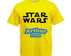 Camiseta Amarela Star Wars