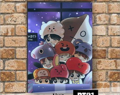 Placa Decorativa - BT21