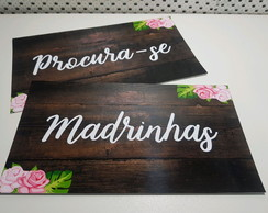 placa madrinha